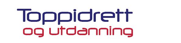 Toppidrett og utdanning logo