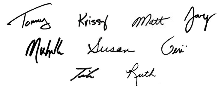 SMT All signatures