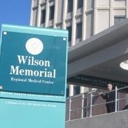 Wilson Hospital Sign