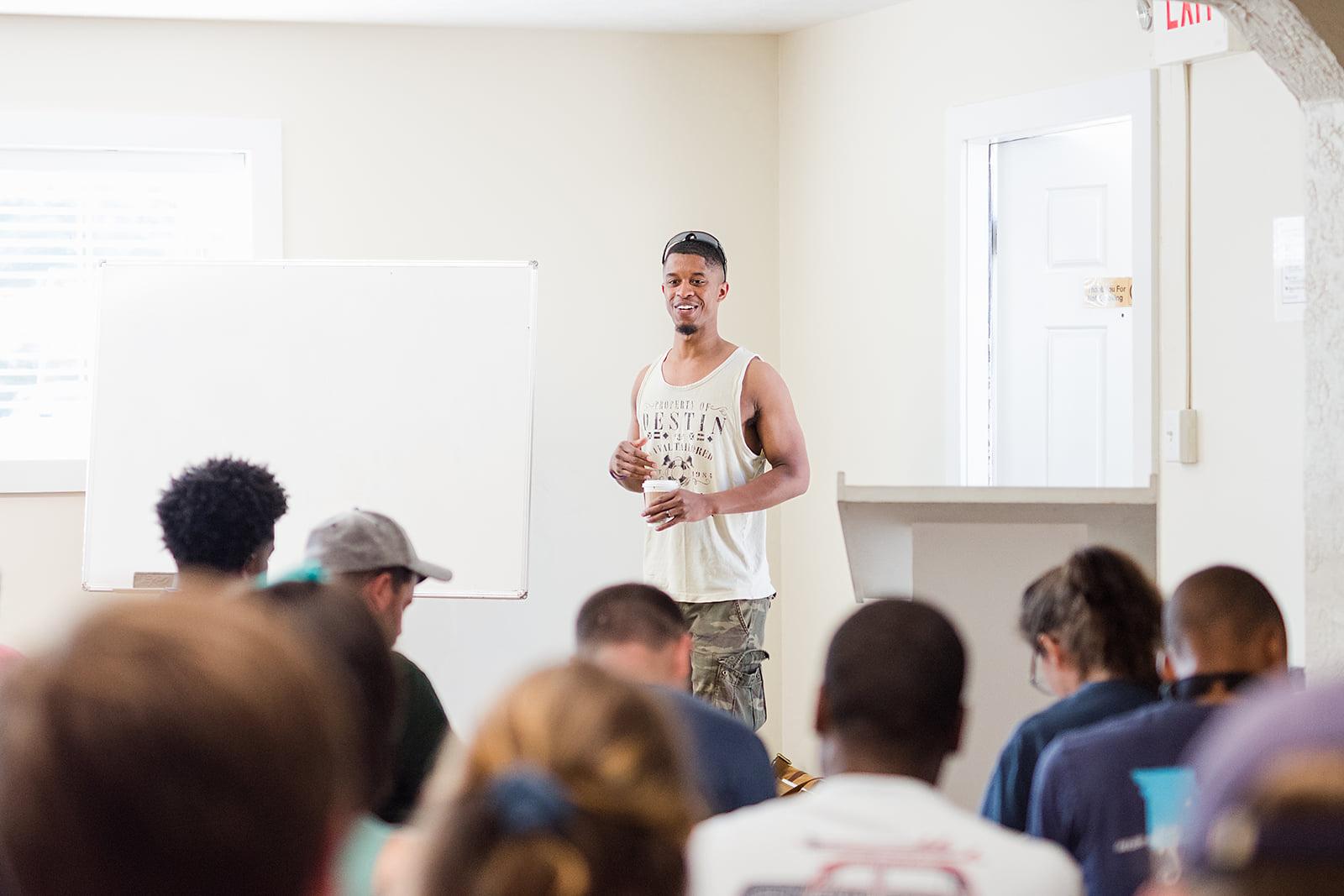 Cyril Chavez Teaching