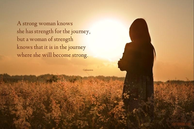 woman journey