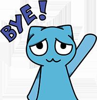 goodbye icon