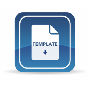 Download Template Icon