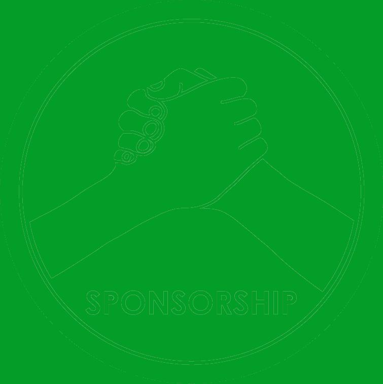 Sponsorship image green