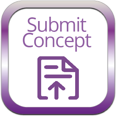 Submit concept icon