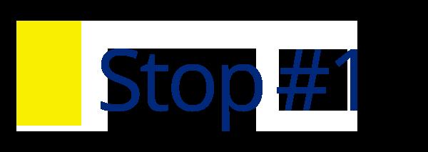 Stop 1 header