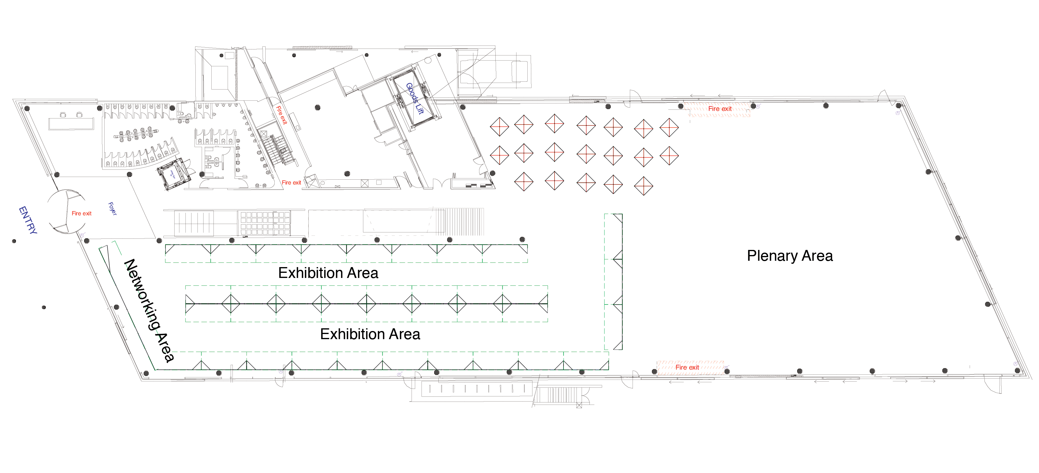 Network floorplan