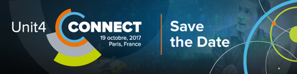 Unit4 Connect 2017 à Paris