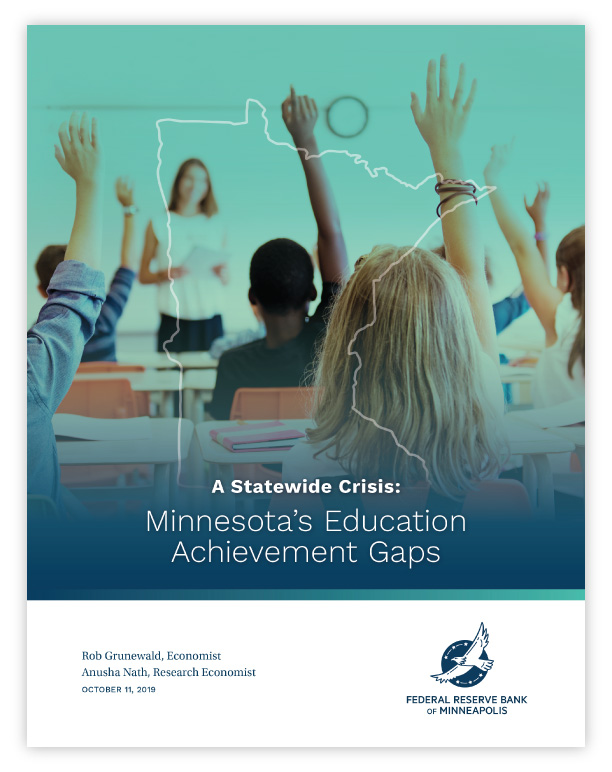Achievement Gaps report cover