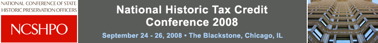 NCSHPO presents the National Historic Tax Credit Conference 2008