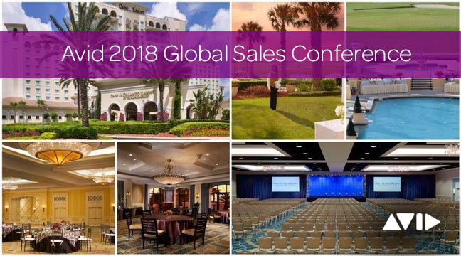 Avid 2018 Global Sales Conference