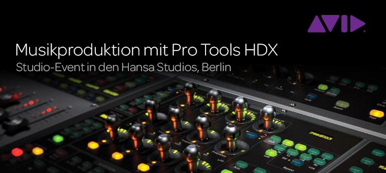 Musikproduktion mit Pro Tools HDX