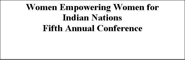 WEWIN Fifth Annual Conference